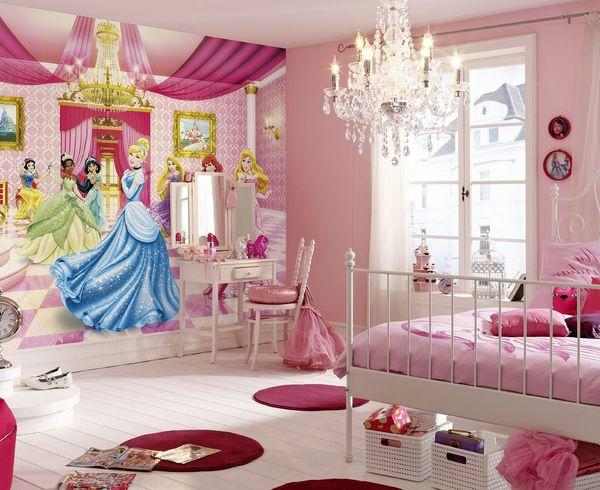 Комната с диснеевскими принцессами