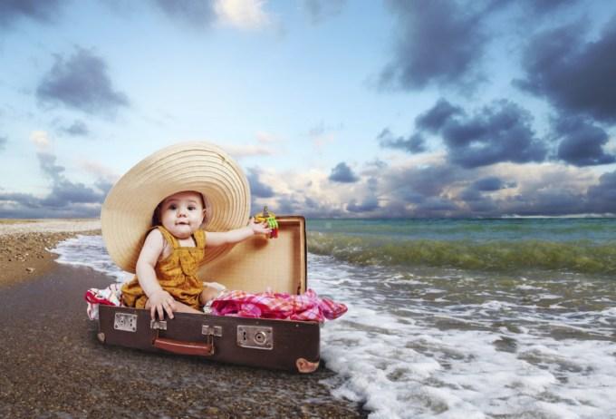 как путешествовать с детьми