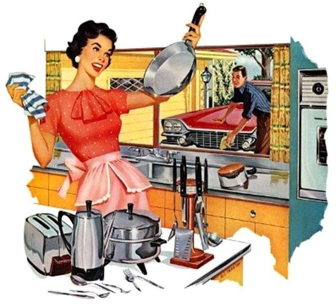 такая разная домохозяйка