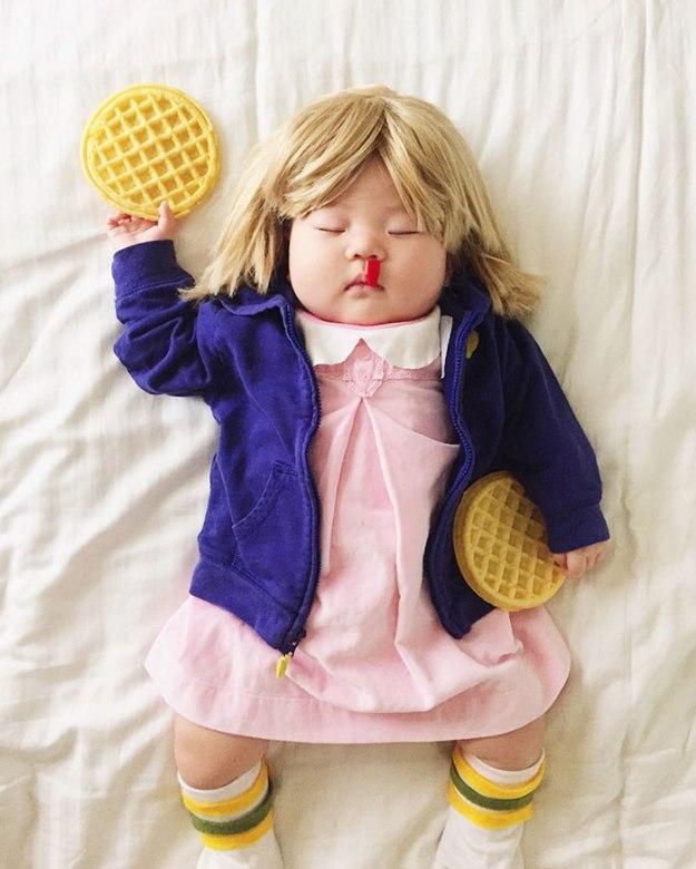 фотографии спящей девочки