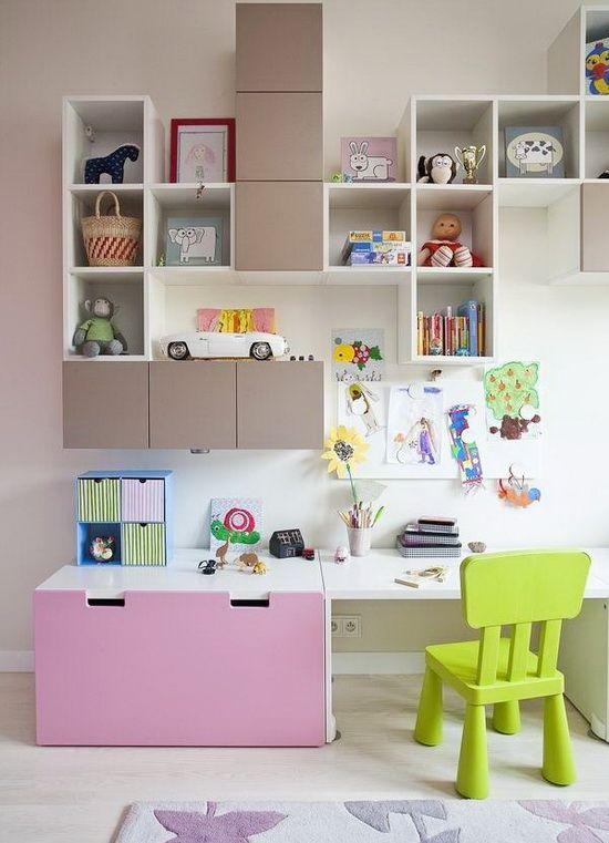рабочее пространство для ребенка