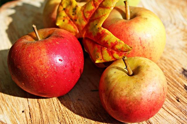 Яблоки в полной боевой готовности… а вы?