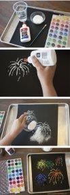 Волшебное рисование с помощью соли