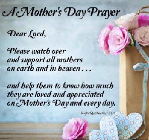 Mothers Day Prayers
