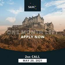 SAHC International Masters Programme