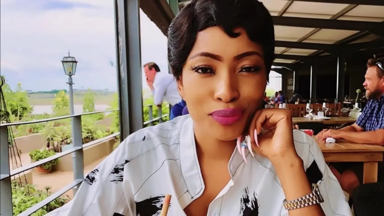 Dj Tira S Wife Attacks Real Housewives Of Joburg Star Christall