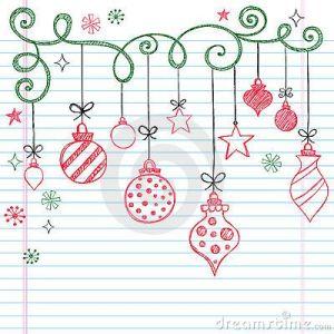 Doodling новый год