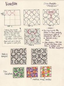 Уроки рисования Зентангл (Zentangle) для начинающих схемы - Подборка 2