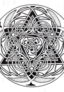 Celtic Art - Coloring Pages for Adults19