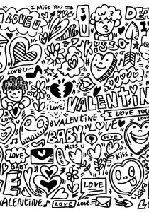 Doodle Art / Doodling - Coloring Pages for Adults16