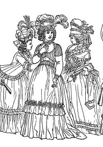 Fashion, clothing and jewelry - Coloring Pages for Adults9