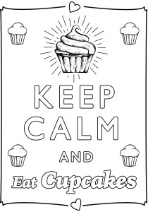 Keep calm and … - Coloring Pages for Adults10