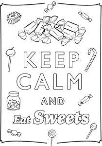 Keep calm and … - Coloring Pages for Adults11