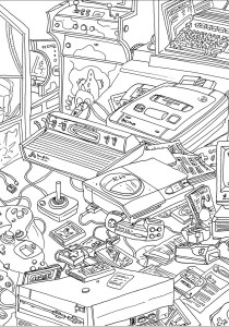 Unclassifiable - Coloring Pages for Adults1