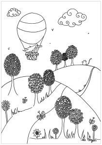 Zen and Anti stress - Coloring Pages for Adults19