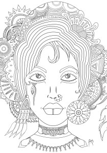 Zen and Anti stress - Coloring Pages for Adults17