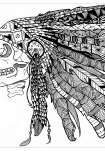 Zentangle - Coloring Pages for Adults7