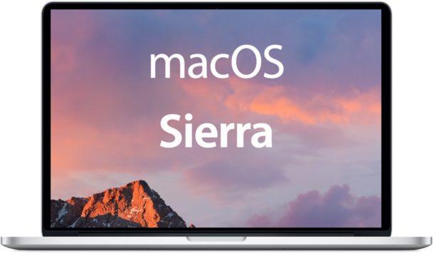 Apple Previews Major Update with macOS Sierra
