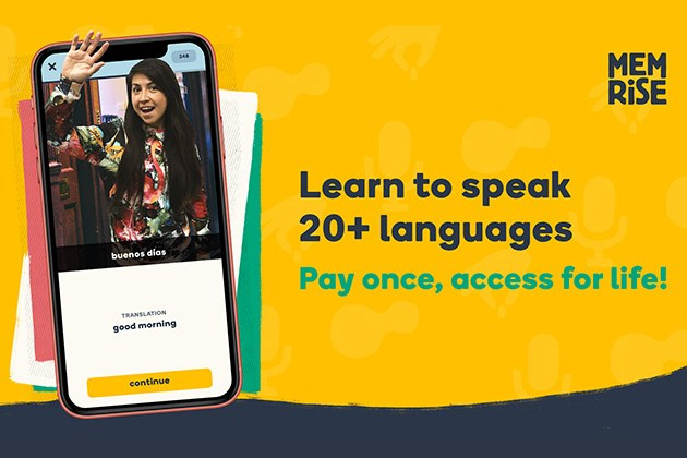 Memrise Language Learning: Lifetime Subscription for $99