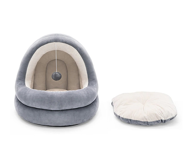 Cute Cat House Bed for $33