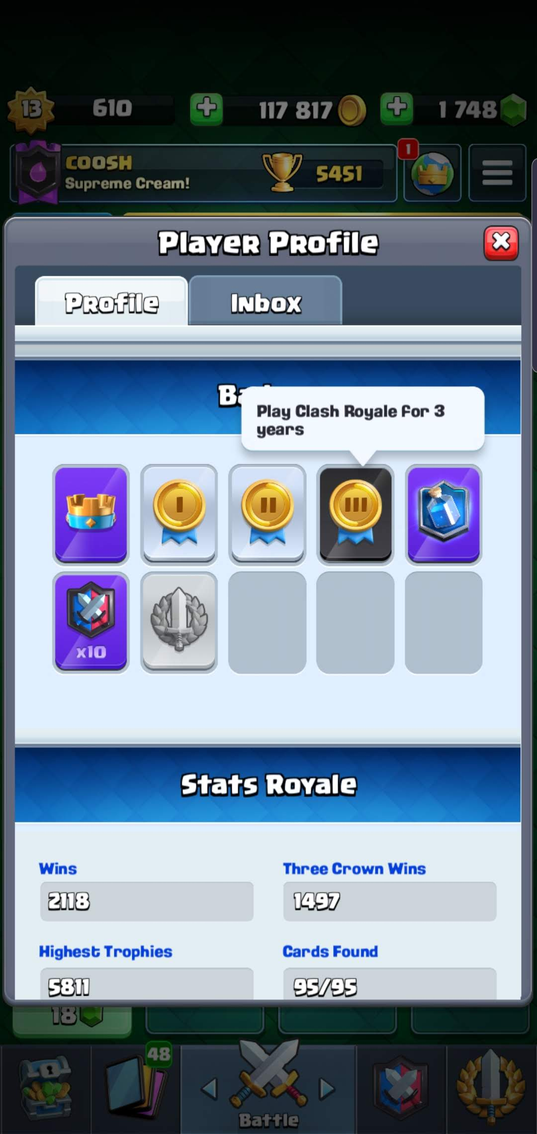 Happy Clash Royale-iversary!