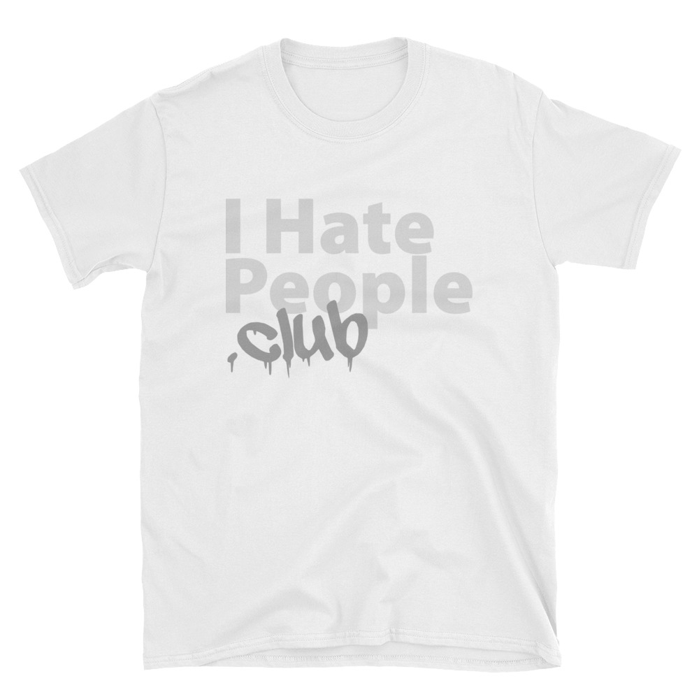 I Hate People Logo T-Shirt