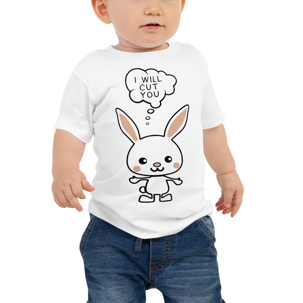 I Will Cut You Bunny Children's Shirt