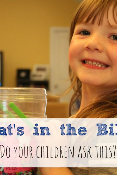 """What's In The Bible""?  Kids will ask……Buck Denver to the rescue!"