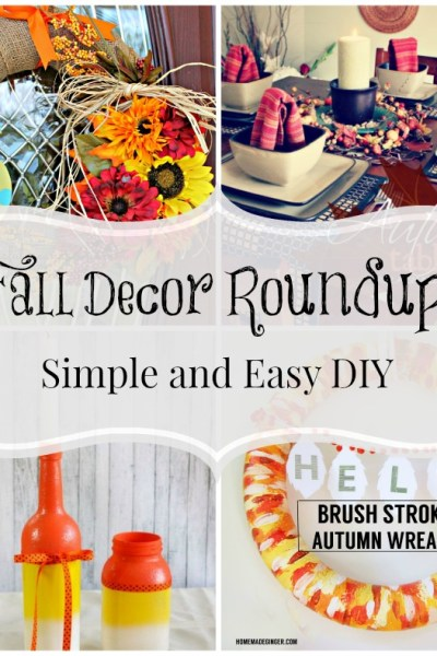 Fall Decor Roundup: Quick and Easy Ideas