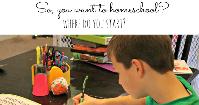 So, you want to homeschool?