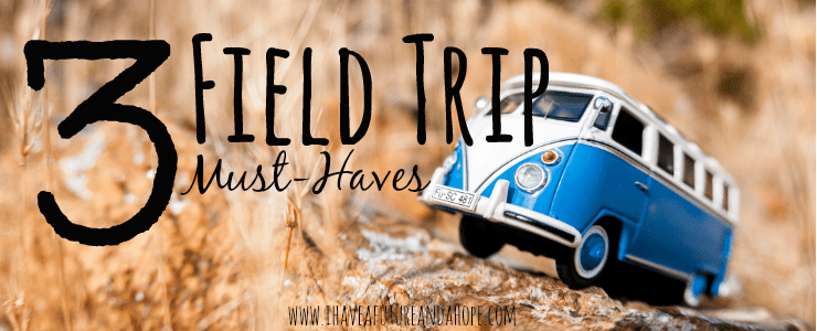 3 Field Trip Must-Haves: 31 Days of Homeschool Supplies