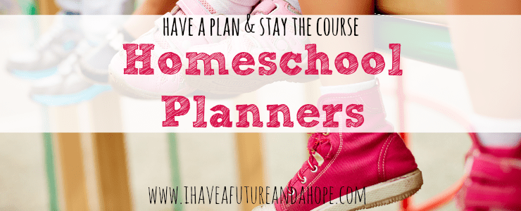 Homeschool Planners: 31 Days of Homeschool Supplies