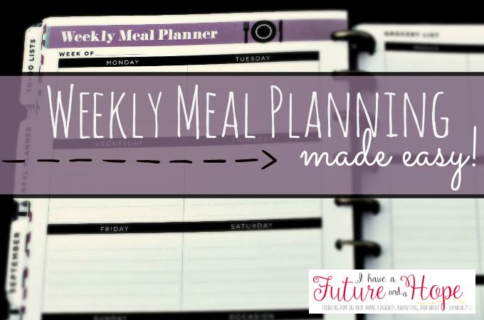 Deal: Get a Meal Planning Membership for 12 months, Plus get the Done-4-You Plan FREE! Sept. 11-21
