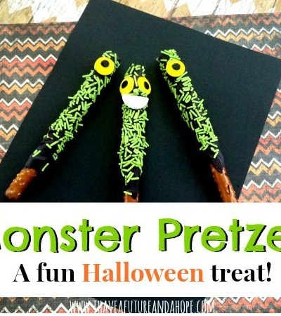 Monster Pretzels: A Fun Halloween Party Favor