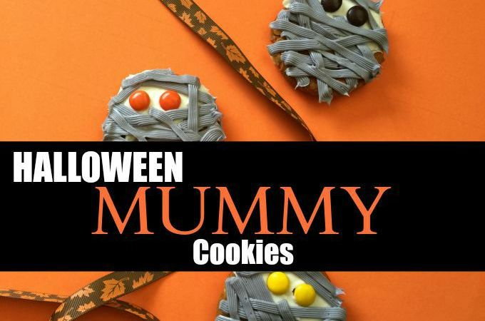 Halloween Mummy Cookies: Kid Fun