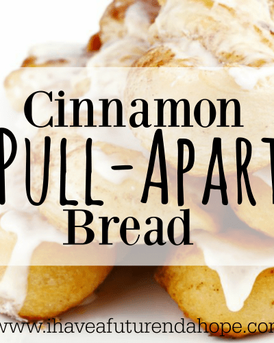 Cinnamon Pull-Apart Bread with Cream Cheese Icing