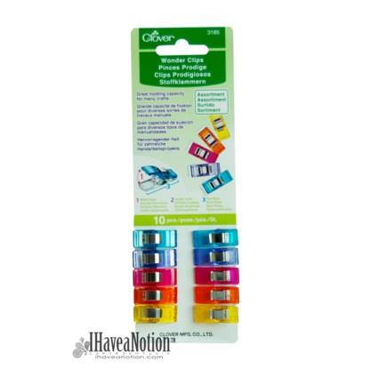 A multi color Wonderclips
