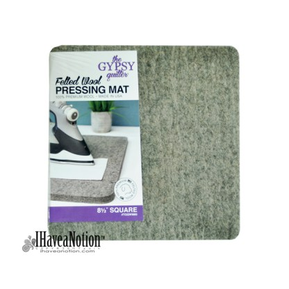 8 1/2 inch square Wool Pressing Mat