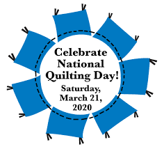 National Quilting Day 2020 graphic
