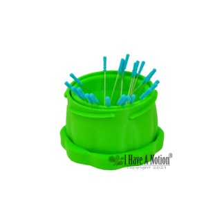 Large Green Magnetic Pin Cup