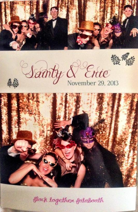sainty's wedding