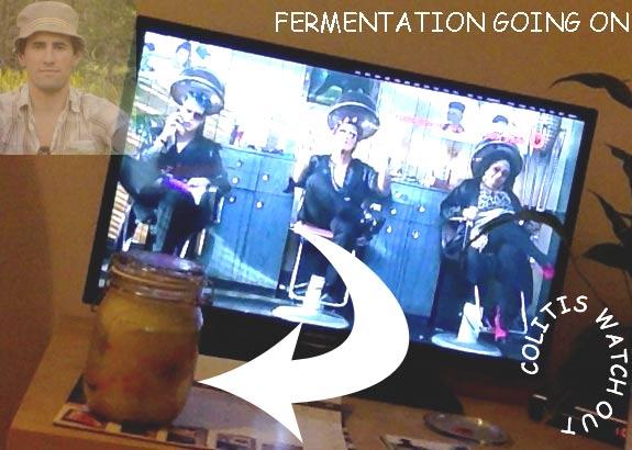 fermented sauerkraut