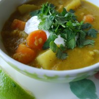 Simple Red Lentil Curry