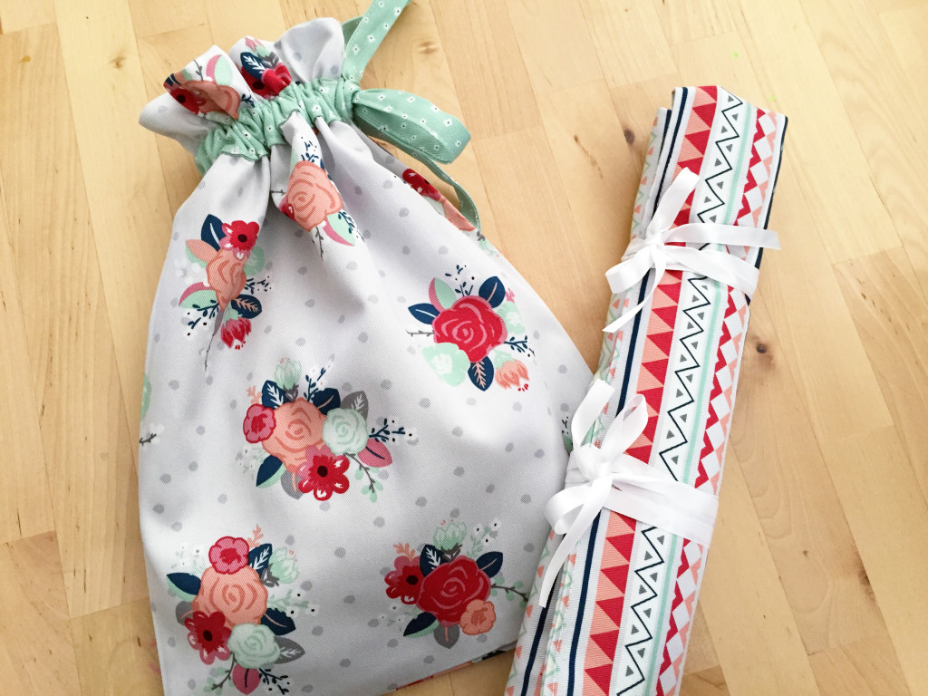 Knitting Needles Case and Project Bag