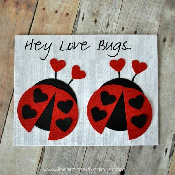 Love Bug Valentine Card I Heart Crafty Things