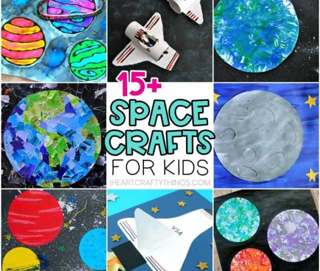 Space Crafts For Kids Easy Crafts For Preschoolers And Kids
