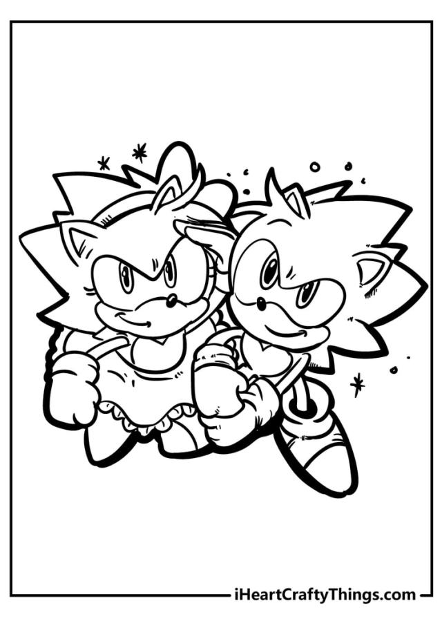 Sonic The Hedgehog Coloring Pages - 22% Free (22)