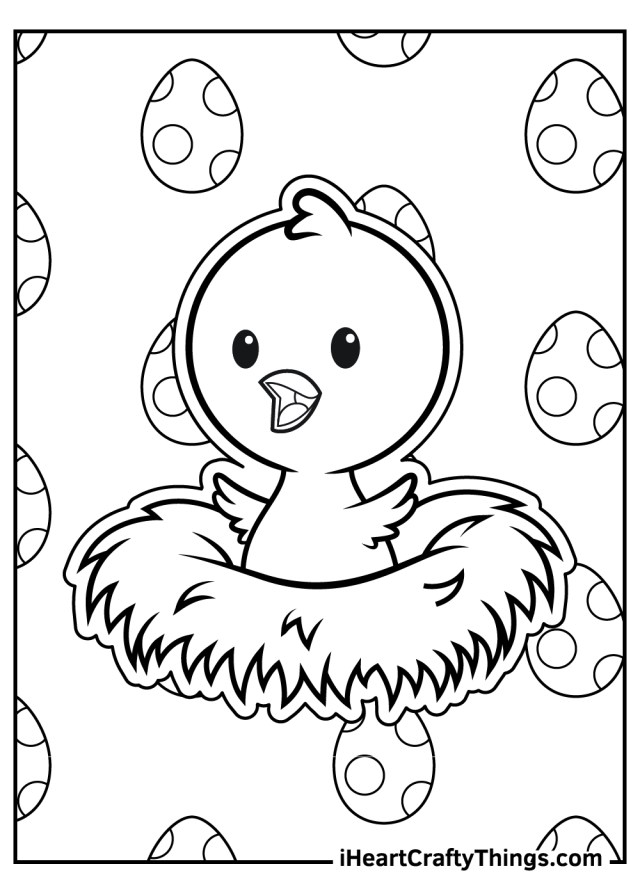 Printable Baby Animals Coloring Pages (Updated 27)