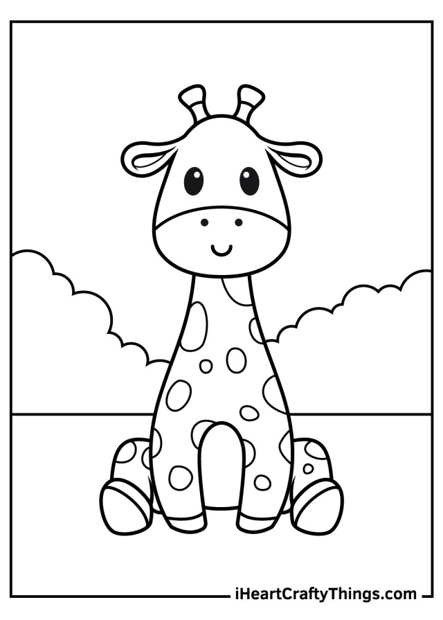 Printable Baby Animals Coloring Pages (Updated 21)