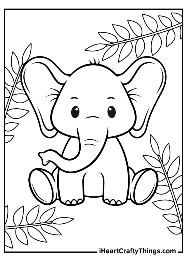 Printable Baby Animals Coloring Pages (Updated 10)